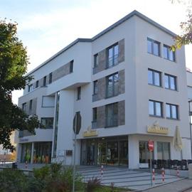 TG-Platz in Buchschlag - Volksbank Gebäude