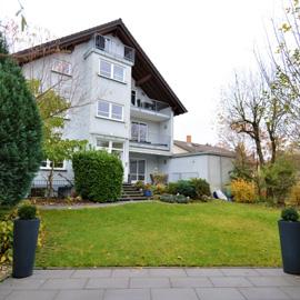2-3-Zimmer-Küche-Bad mit Terrasse + Gartennutzung