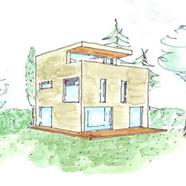 Neubauprojekt (freistehendes EFH) in bevorzugter Villenlage