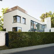 Freistehendes Architektenhaus mit Einliegerwohnung