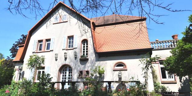 Künstlervilla im Dornröschenschlaf