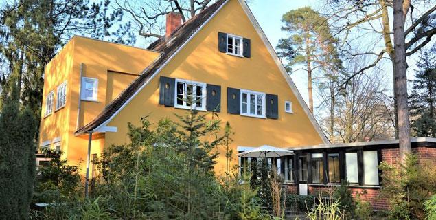 Denkmalgeschützte Villa auf Sonnengrundstück