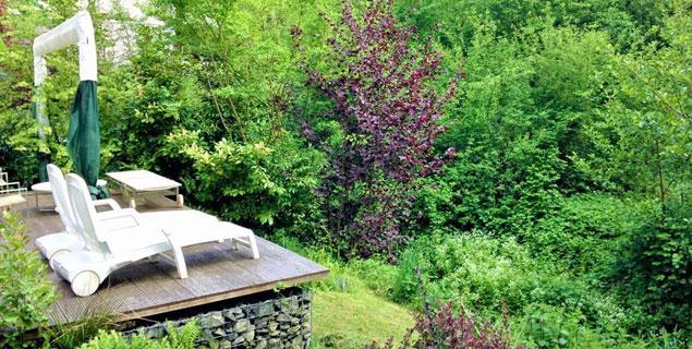 Luxuriöse Maisonette mit Traumgarten