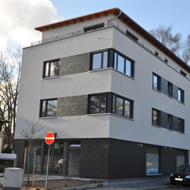 Neubau 3 Zimmer mit Kü/Bad/Aufzug/Tiefgarage