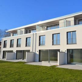 Neubau - Reihenmittelhaus - Blick ins Grüne