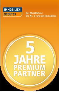 ImmobilienScout24 - Premium-Partner 5 Jahre
